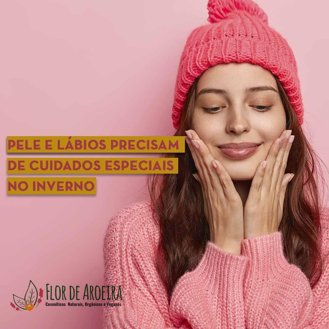Pele e lábios precisam de cuidados especiais no inverno